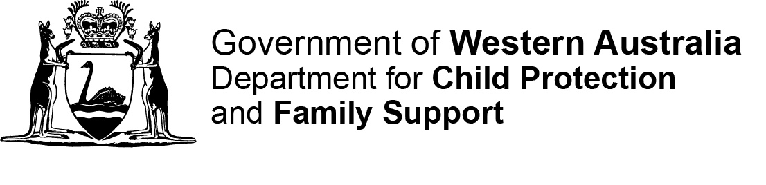 Department of Child Protection, WA